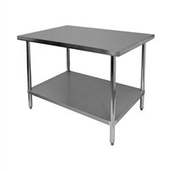 "ChefsFirst offers equipment & supplies for restaurants, commercial kitchens, foodservice & manufacturing facilities. Check out our low price for this Worktable, Economy, Stainless Steel, 24"" x 48"", CCWT-2448"