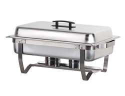 ChefsFirst offers equipment & supplies for restaurants, commercial kitchens, foodservice & manufacturing facilities. Check out our low price for this Chafer, Full Size Complete, CHAFER by California Cooking.