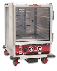 ChefsFirst offers equipment & supplies for restaurants, commercial kitchens, foodservice & manufacturing facilities. Check out our low price for this Transport/Proofing Cabinet, Heated Non-Insulated Half Size - 120V, NHPL-1810-HHC by California Cooking.
