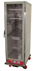 ChefsFirst offers equipment & supplies for restaurants, commercial kitchens, foodservice & manufacturing facilities. Check out our low price for this Transport/Proofing Cabinet, Heated Non-Insulated Full Size Universal Runners - 120V, NHPL-1825-UNC by Cal