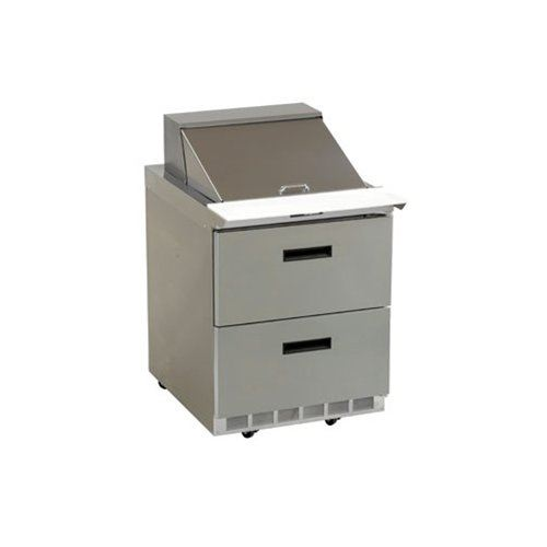 "ChefsFirst offers equipment & supplies for restaurants, commercial kitchens, foodservice & manufacturing facilities. Check out our low price for this Refrigerator, Sandwich Prep Table 27"", 2 Drawers - 1 Section, D4427N-6 by Delfield."