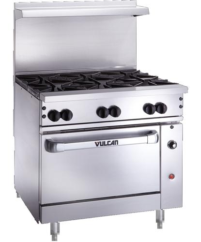 Vulcan Countertop Oven : Vulcan - Range, 36