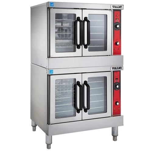 Vulcan Countertop Oven : Vulcan - Oven, Convection - Double Full Size Standard Depth - Nat. Gas ...
