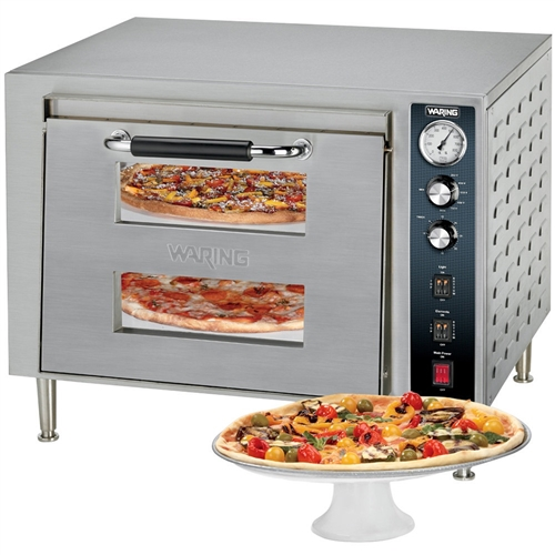 Countertop Pizza Maker : Waring - Oven, Pizza Countertop Double Deck - 240V - WPO700