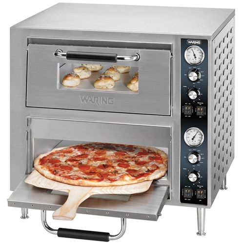 Countertop Pizza Oven Recipes : Waring - Oven, Pizza Countertop Double Deck - 240V - WPO750